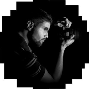 <h1>Un photographe passionné</h1>